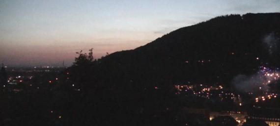 Schloßfeuerwerk 11.Juli 2015