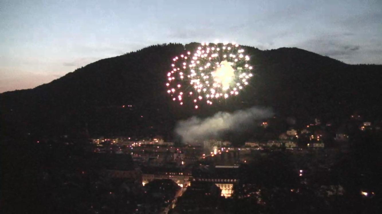 Heidelberg Schlossfeuerwerk