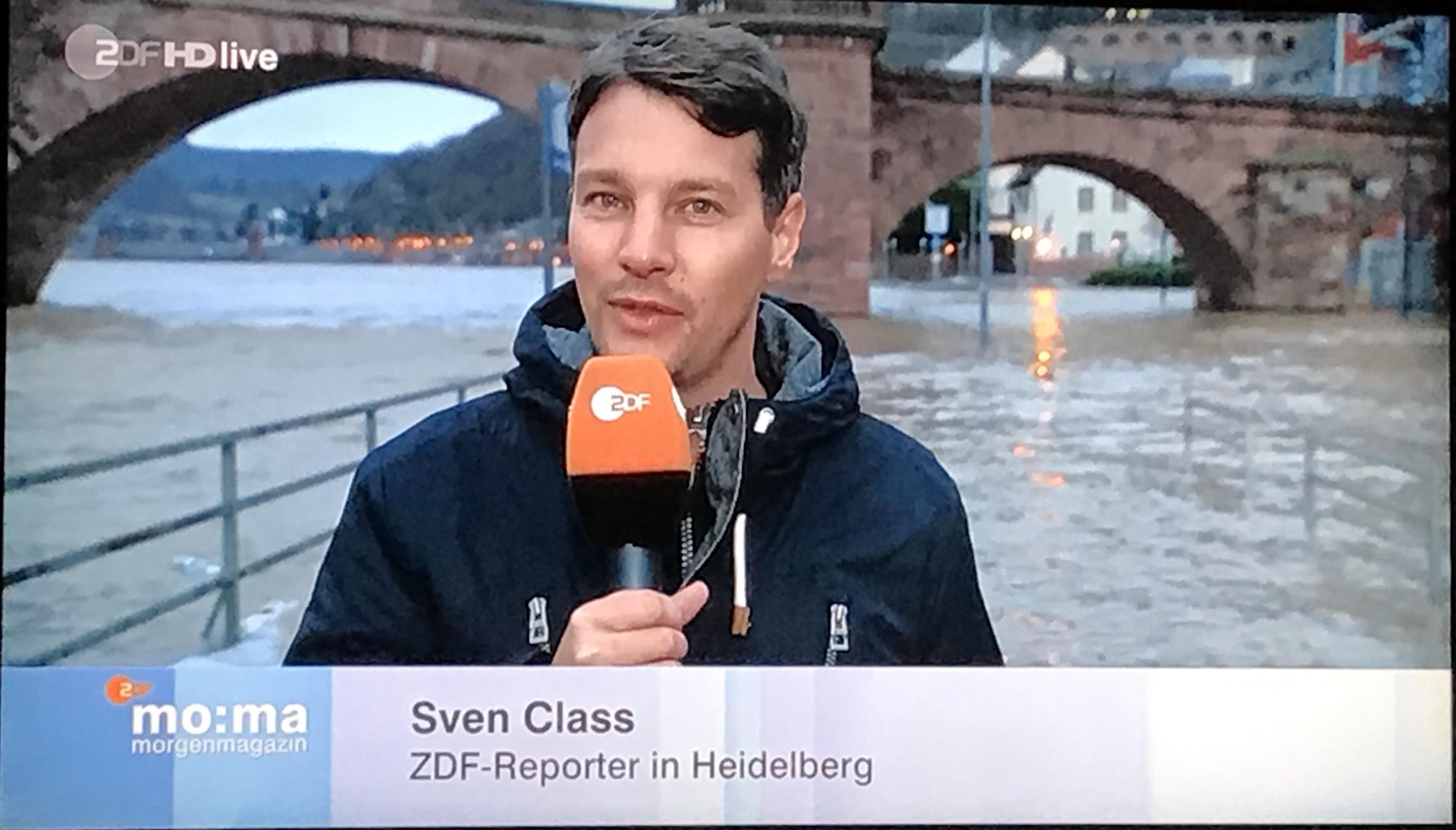 Hochwasser Heidelberg ZDF