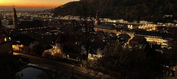 Heidelberg an einem Herbsttag 2020